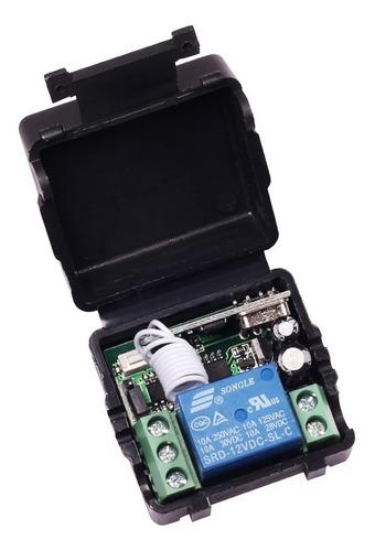 control remoto inalámbrico dc 12v - 220vac 10a 433mhz