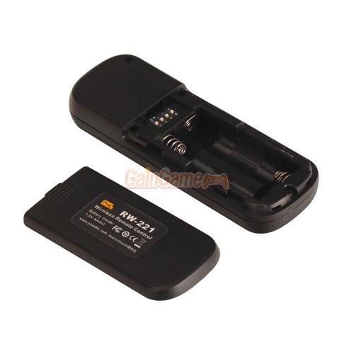 control remoto inalambrico pixel rw-221/n3 para canon 5d mk3