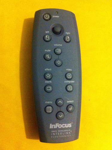 control remoto infocus