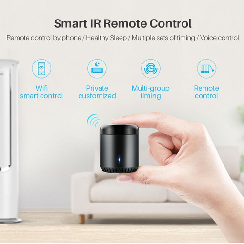 control remoto inteligente smart ir/wifi broadlink rm mini 3
