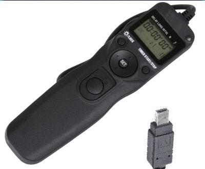 control remoto intervalometro time lapse nikon d7000 y otras