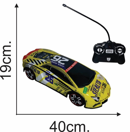 control remoto juguete auto carrera