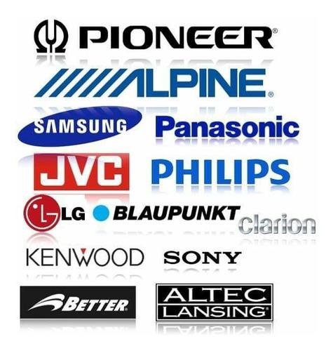 control remoto jvc sony kenwood pioneer alpine boss lg