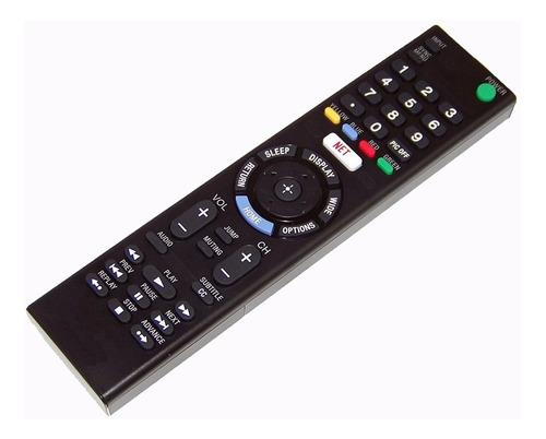 control remoto kdl-40r555c para sony bravia smart tv netflix