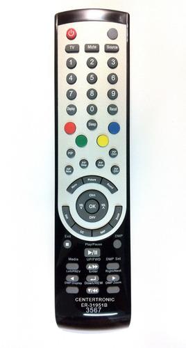 control remoto lcd bgh led tv noblex telefunken er-31951b