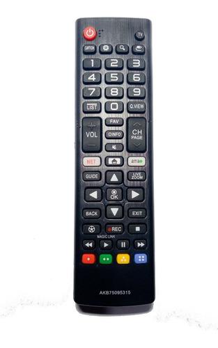control remoto led lg smart tv tecla netflix amazon