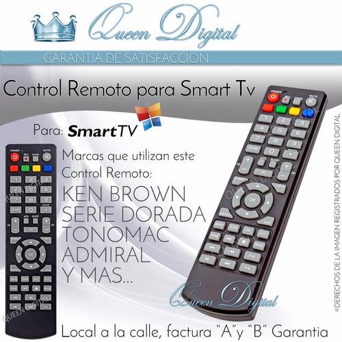 control remoto led smart 3d ken brown admiral tonomac