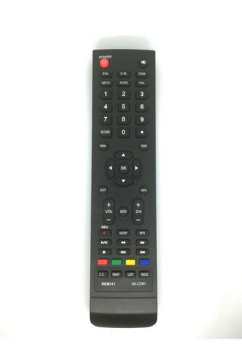 control remoto led smart tv hitachi cdh-le40smart06 3842