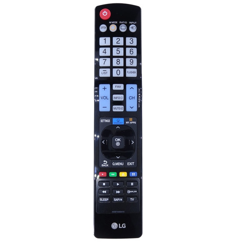 control remoto lg akb74455416 original pantalla led puebla