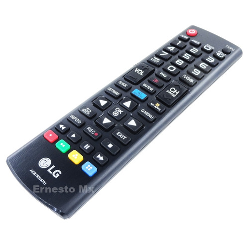 control remoto lg akb75055701 original pantalla led puebla