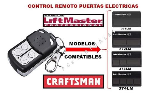 control remoto liftmaster / craftsman