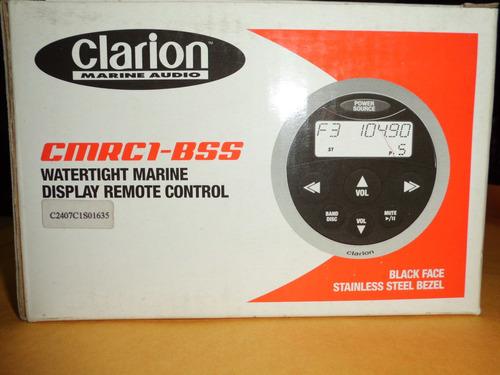 control remoto marino marca:clarion mod. cmrc1-bss nuevo