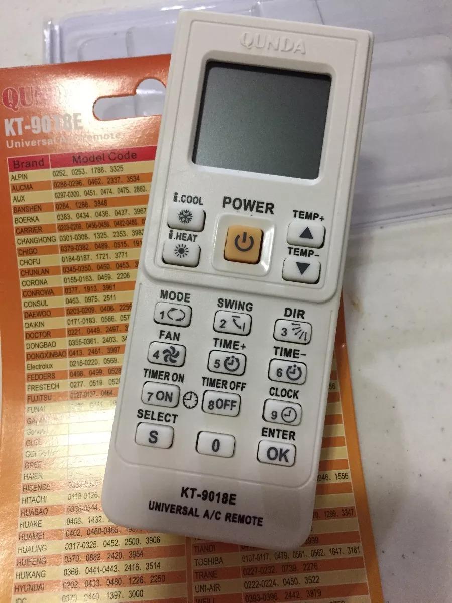 Control Remoto Minisplit Aux De 4000 Codigos 350 00 En