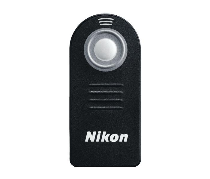 Liberación del obturador control remoto inalámbrico infrarrojo para Nikon D7100 D5100 D5200 D3200