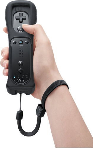 control remoto + motion plus integrado para wii y wii u