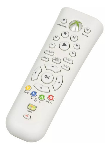 control remoto multimedia xbox 360