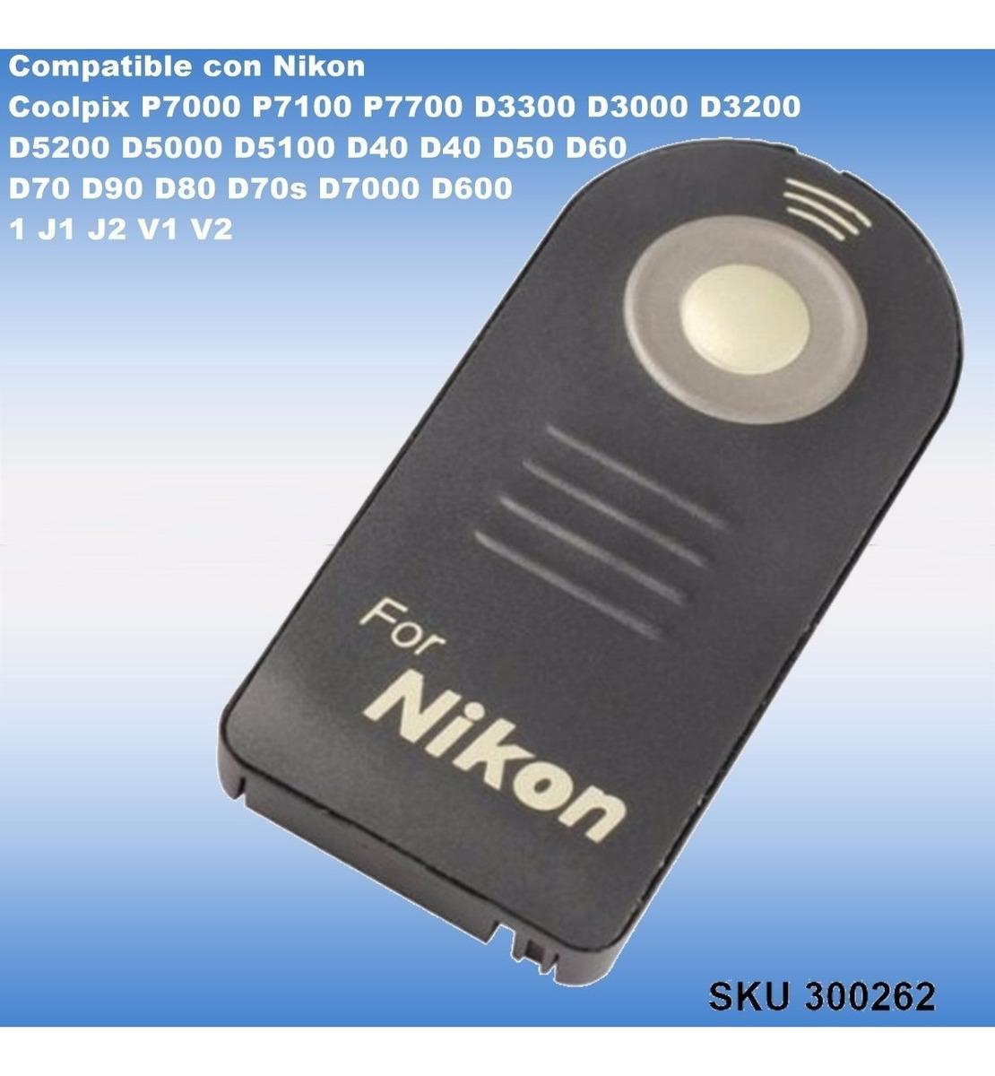 Mando Compatible Nikon Control Remoto D600 D610 D90 D80 D60 D50 D40 D70S D80