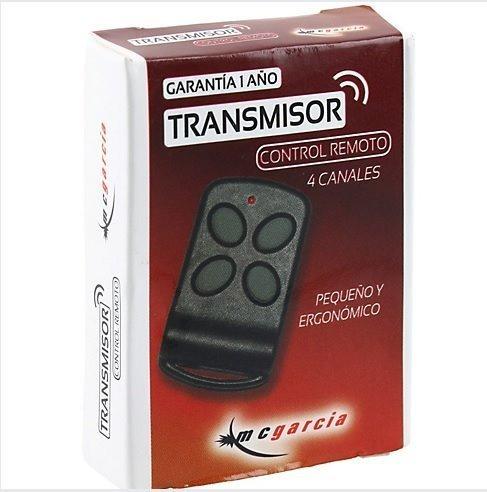 control remoto original porton mc garcia - veloti - titan