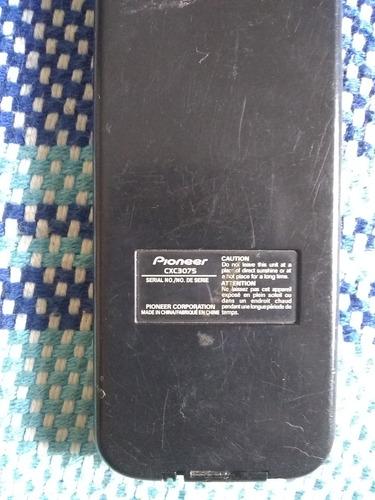 control remoto pantalla dvd pionner cxc-3075