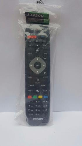 control remoto pantalla philips netflix+ 4 pilas +aud nike.