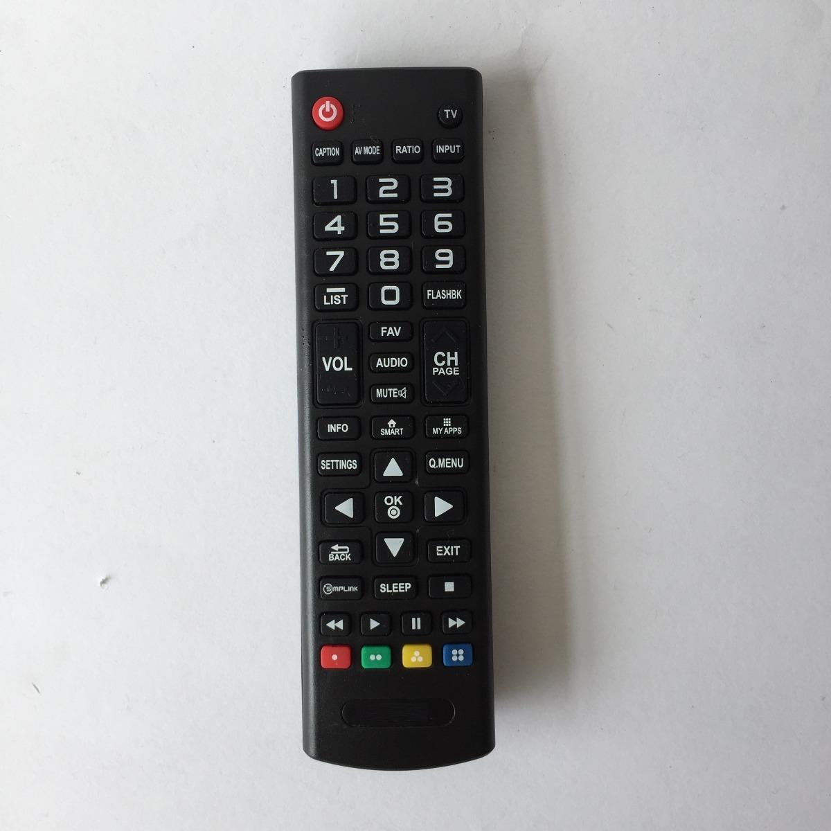 Control Remoto Para Smart Tv Lg Pantalla Lcd Led 158