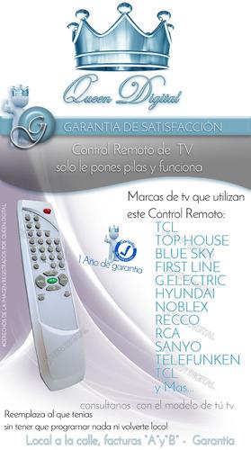 control remoto para