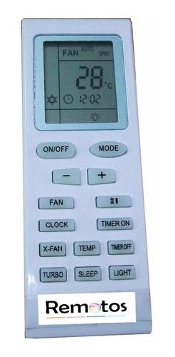 control remoto para aire