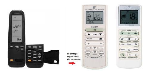 control remoto para aire acondicionado electra rc-3 york rc3
