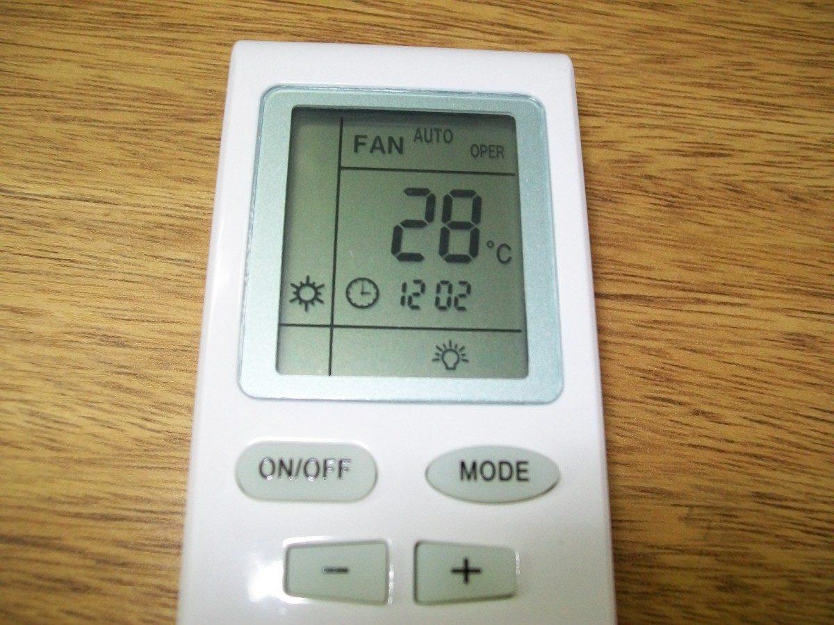 Control remoto para aire acondicionado philco frio calor for Aire acondicionado calor