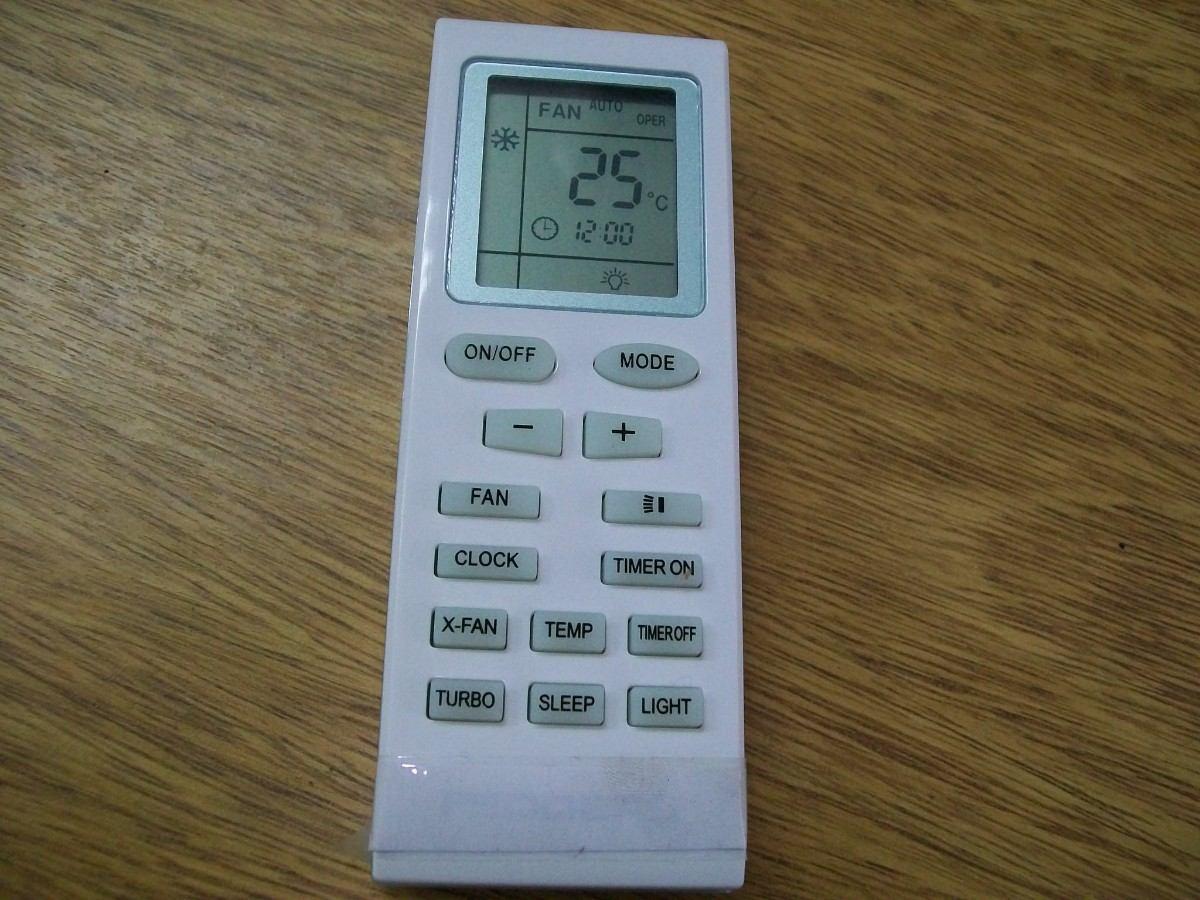 control remoto para aire acondicionado trane frio solo 681 25 en rh articulo mercadolibre com ar El Aire Acondicionado Aire Acondicionado En Ingles