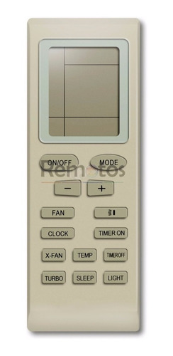 control remoto para aire acondicionado zenith microcentro !!