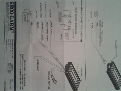 control remoto para alarma dsc / incluida plaqueta madre.