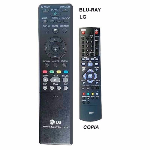 control remoto para blu ray bluray lg blu-600 1 año garantía