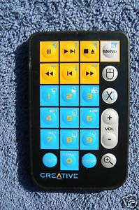 control remoto para cdrom creative