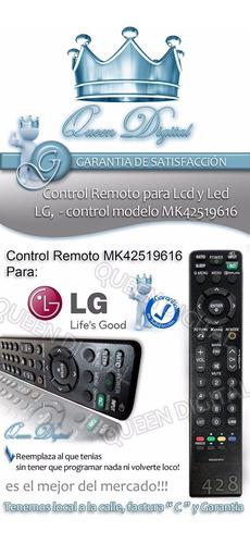 control remoto para control