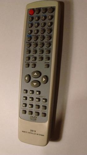 control remoto para dvd sanyo-noblex-philco