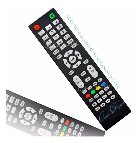 control remoto para jvc talent led tv lcd rm-c3149