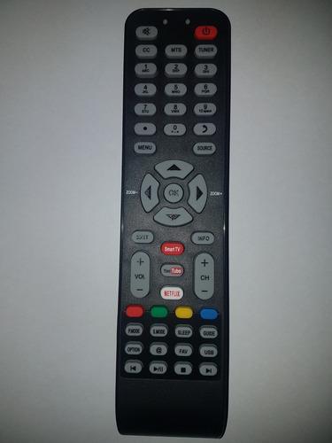 control remoto para  led smat. tcl rca daewoo netflix varios