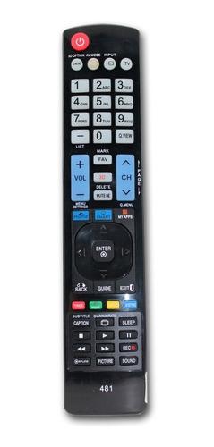 control remoto para lg kanji smart tv led lcd 481