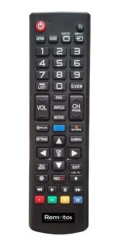 control remoto para lg smart tv akb73975701 microcentro !!!