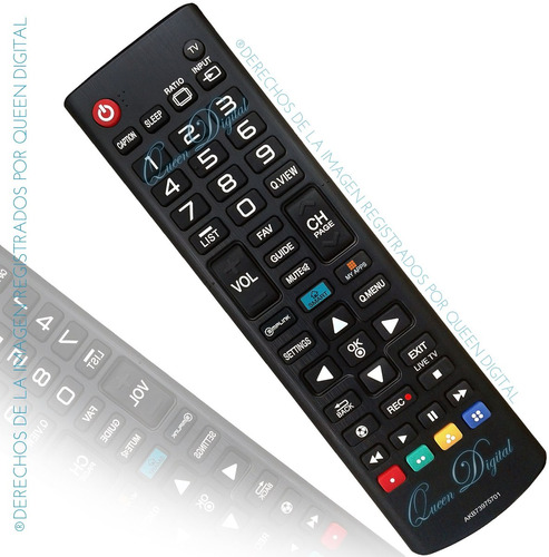 control remoto para lg smart tv led lcd akb73975701 lb5800