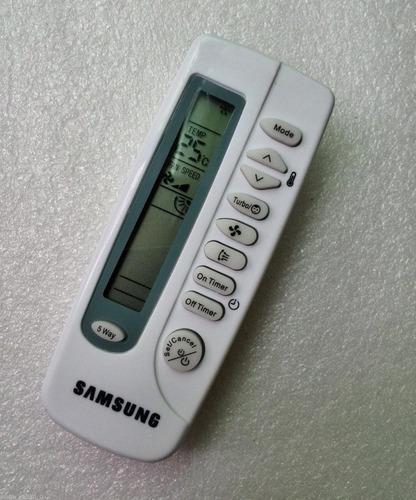 control remoto para minisplit samsung (aire acondicionado)