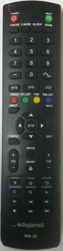 control remoto para pantalla polaroid