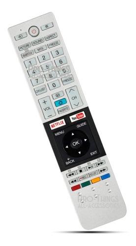 control remoto para smart tv toshiba ct-8521 ct-8514 l4700la