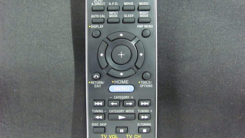 control remoto para sony referencia: rm-aap043