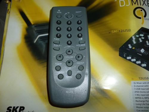 control remoto  para televisor daka original.