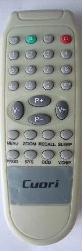 control remoto para tv cuori - microsonic