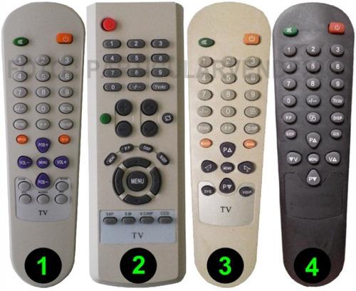 control remoto para tv de tubo dikler -directo- envio