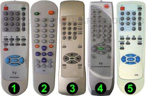 control remoto para tv de tubo megastar -directo- envio