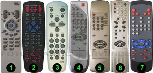 control remoto para tv de tubo rca -directo- envio